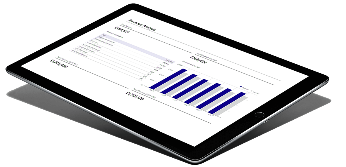 ipad with accounting services software